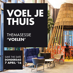 Voel je thuis op ons event in april