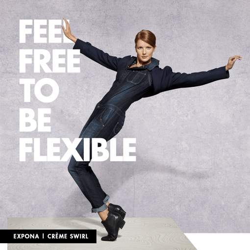 Feel free to be flexible